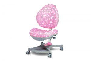 Auganti ergonominė vaiko kėdė Fantasy rožinė